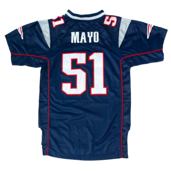 New England Patriots Jerod Mayo NFL Team Apparel Youth Limited Replica Football Jersey