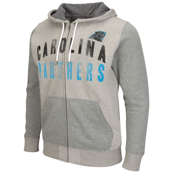 Carolina Panthers Safety Full Zip Hoodie