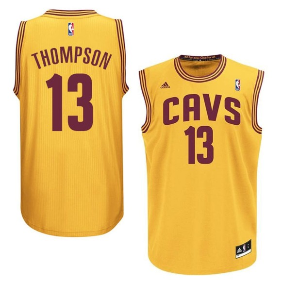 Tristan Thompson Cleveland Cavaliers NBA Swingman Alternate Replica Jersey - Gold