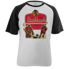 Chicago Blackhawks Table Top FX Raglan T-Shirt