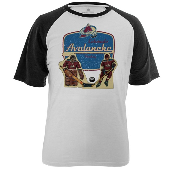 Colorado Avalanche Table Top FX Raglan T-Shirt
