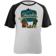 San Jose Sharks Table Top FX Raglan T-Shirt