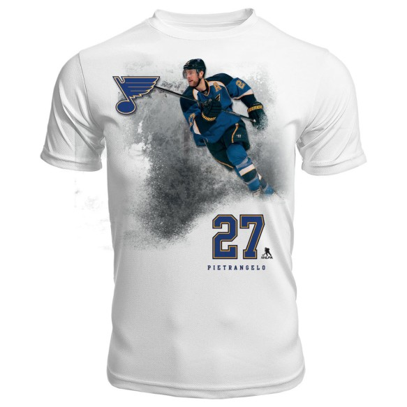 St. Louis Blues Alex Pietrangelo FX Highlight Reel Kewl-Dry T-Shirt
