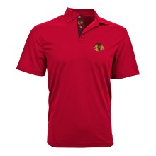 Chicago Blackhawks Omaha Skate Lace Polo