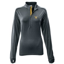 Pittsburgh Penguins Women's Pacer Team Script 1/4 Zip  Pullover