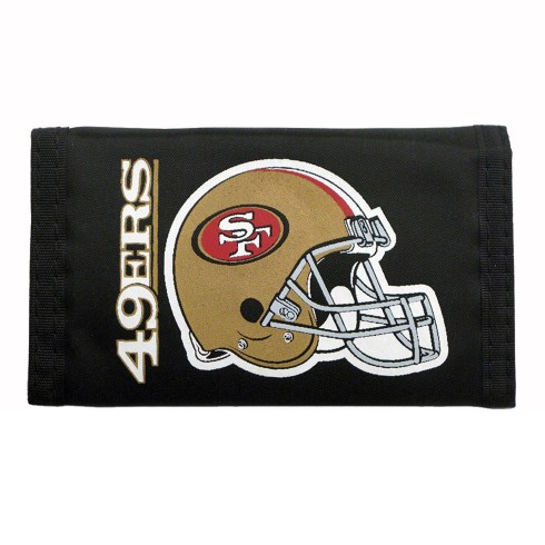 San Francisco 49ers Tri-Fold Nylon Wallet