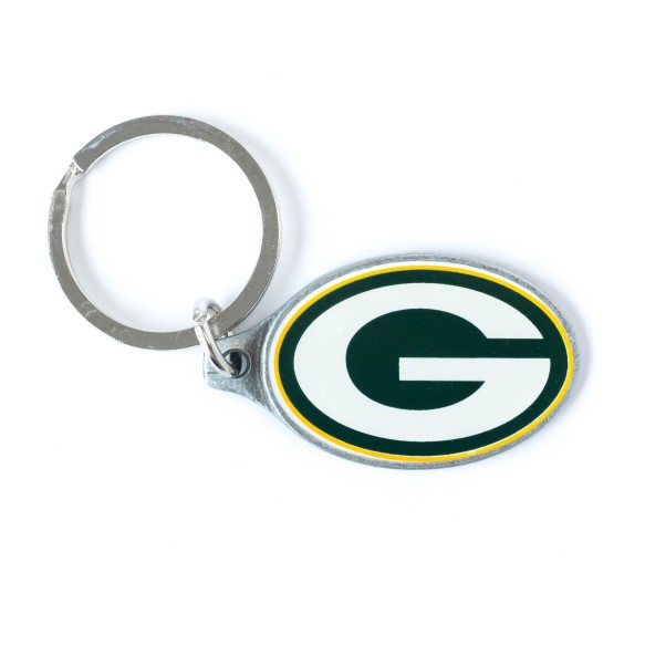 Green Bay Packers NFL Logo Keychain