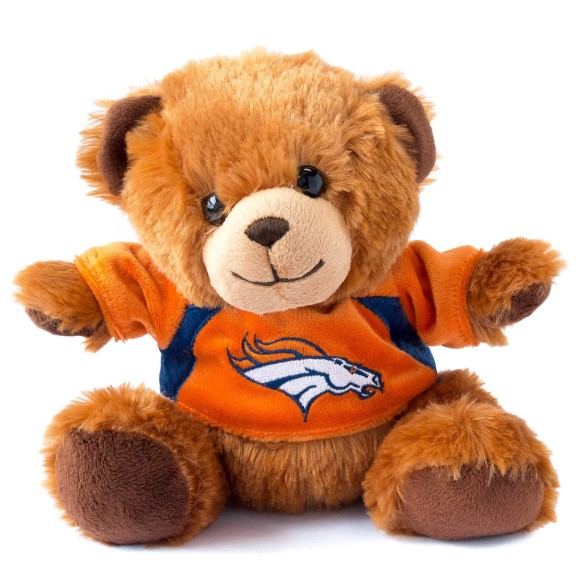Denver Broncos 7.5 inch  Seated Jersey Sweater Bear