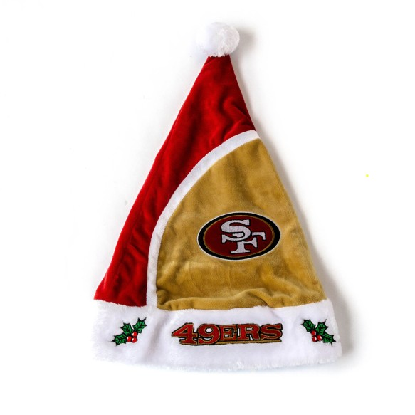San Francisco 49ers Santa Hat