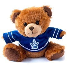 Toronto Maple Leafs NHL 7.5 inch Seated Jersey Sweater Bear