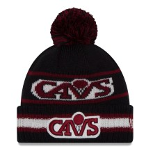 Cleveland Cavaliers New Era NBA Cuffed Vintage Select Pom Knit Hat