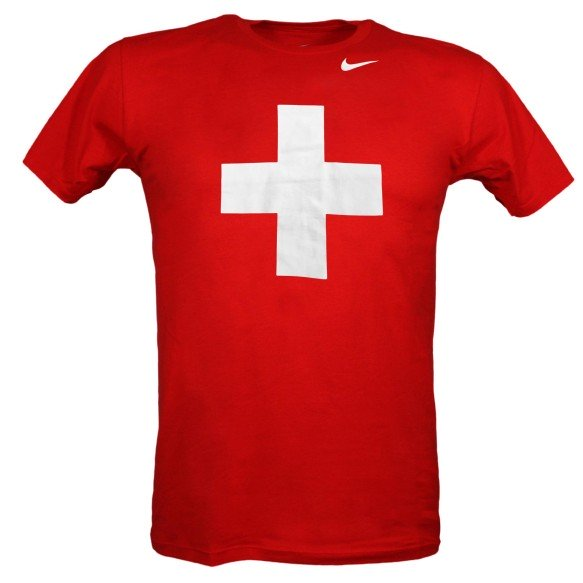Team Switzerland IIHF Logo T-Shirt