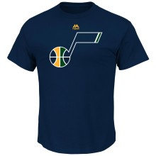 Utah Jazz Primary Logo NBA T-Shirt