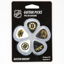 Boston Bruins Woodrow Guitar 10-Pack Guitar Picks