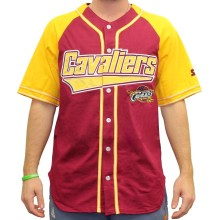 "Cleveland Cavaliers Starter NBA ""Double Play"" Baseball Jersey"