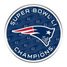 New England Patriots 2017 NFL Super Bowl LI Champions Logo Lapel Pin