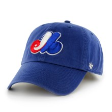 Montreal Expos Cooperstown Clean Up Cap