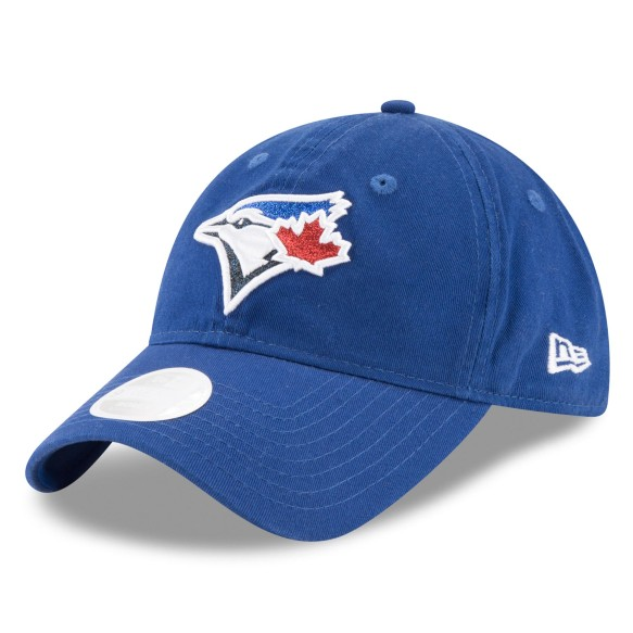 Toronto Blue Jays Women's Team Glisten Relaxed Fit 9TWENTY Cap | Adjustable