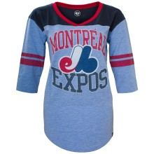 Montreal Expos Women's Replay Rush T-Shirt