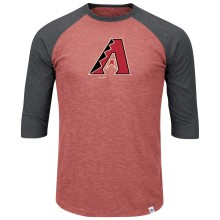 Arizona Diamondbacks Grueling Ordeal 3 Quarter Sleeve T-Shirt
