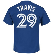 Toronto Blue Jays Devon Travis MLB Player Name & Number T-Shirt