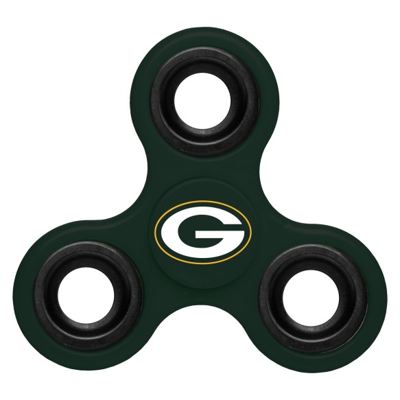 Green Bay Packers NFL 3-Way Diztracto Spinner