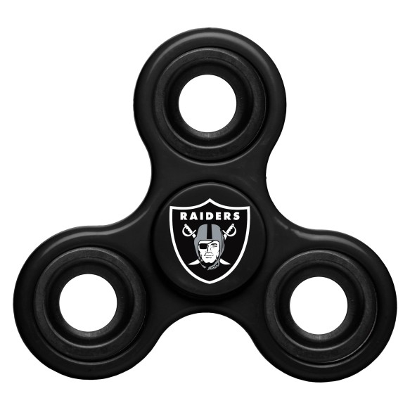 Oakland Raiders NFL 3-Way Diztracto Spinner