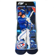 Toronto Blue Jays Kevin Pillar MLB Player Photo Trading Card Crew Socks