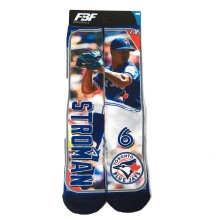 Toronto Blue Jays Marcus Stroman MLB Player Photo Trading Card Crew Socks