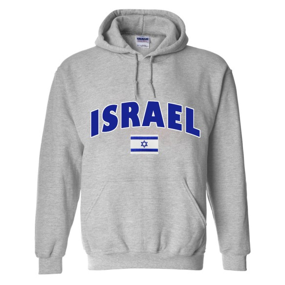 Israel MyCountry Pullover Arch Hoodie (Sport Gray)