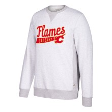 Calgary Flames CCM Retro Finished Fleece Crew