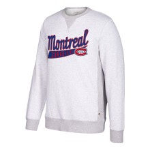 Montreal Canadiens CCM Retro Finished Fleece Crew