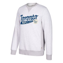 Toronto Maple Leafs CCM Retro Finished Fleece Crew