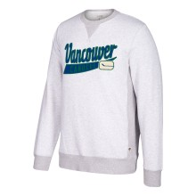 Vancouver Canucks CCM Retro Finished Fleece Crew