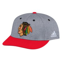 Chicago Blackhawks Adidas NHL Two Tone Structured Adjustable Cap