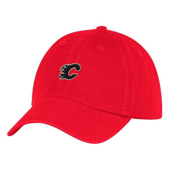Calgary Flames Adidas NHL Dad Adjustable Slouch Cap