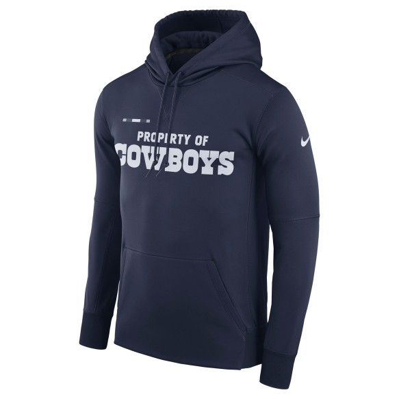 Dallas Cowboys Nike NFL Sideline Property Of PO Hoodie