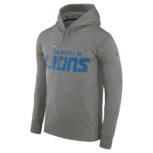 Detroit Lions Nike NFL Sideline Property Of PO Hoodie