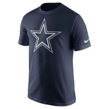 Dallas Cowboys NFL Essential Logo T-Shirt - Navy