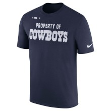 Dallas Cowboys NFL 2017 Sideline Property Of T-Shirt