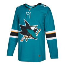 San Jose Sharks adidas adizero NHL Authentic Pro Home Jersey