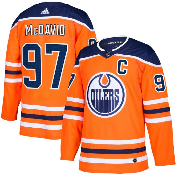 Connor McDavid Edmonton Oilers adidas NHL Authentic Pro Home Jersey - Premade