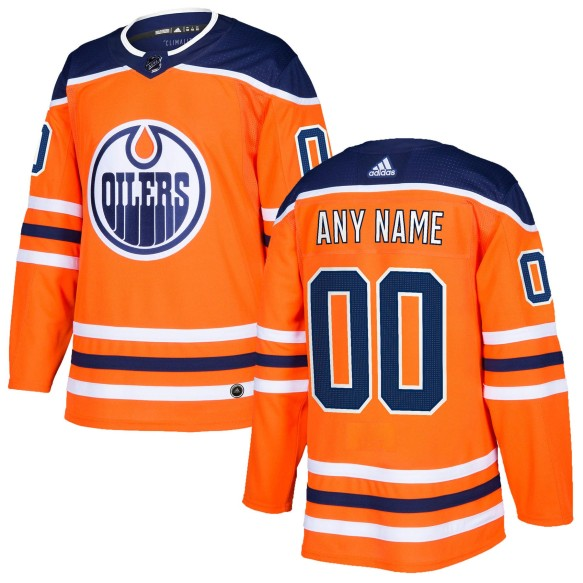 Edmonton Oilers ANY NAME adidas  NHL Authentic Pro Home Jersey - Pro Stitched