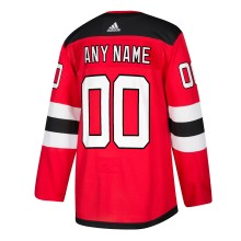 New Jersey - Pro Stitched Devils ANY NAME adidas NHL Authentic Pro Home Jersey - Pro Stitched