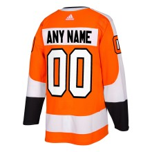 Philadelphia Flyers ANY NAME adidas  NHL Authentic Pro Home Jersey - Pro Stitched