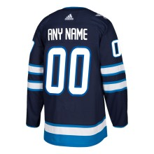 Winnipeg Jets ANY NAME adidas  NHL Authentic Pro Home Jersey - Pro Stitched