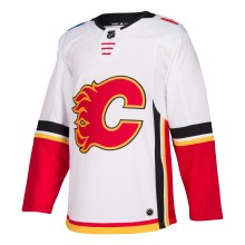 Calgary Flames adidas adizero NHL Authentic Pro Road Jersey