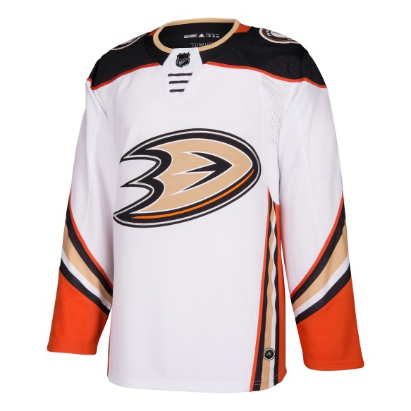 Chandail adidas adizero LNH Authentique Blanc des Ducks d'Anaheim