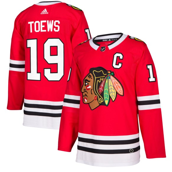 Jonathan Toews Chicago Blackhawks adidas  NHL Authentic Pro Home Jersey - Pro Stitched