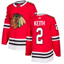 Duncan Keith Chicago Blackhawks adidas  NHL Authentic Pro Home Jersey - Pro Stitched